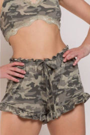 POL  Clothing Ruffle Shorts - Product Mini Image