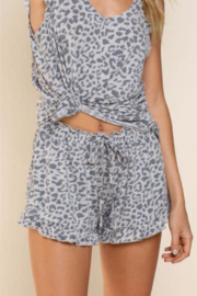 POL  Ruffle Shorts - Front cropped