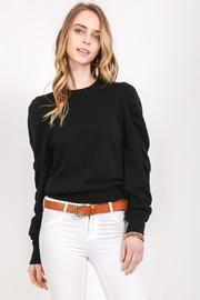 LoveRiche Ruffle Shoulder Sweater - Product Mini Image