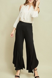 Entro Ruffle Side-Slit Pants - Product Mini Image