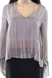 Lush Ruffle Sleeve Blouse - Product Mini Image