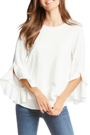 Fifteen Twenty Ruffle Sleeve Cozy Sweatshirt - Product Mini Image