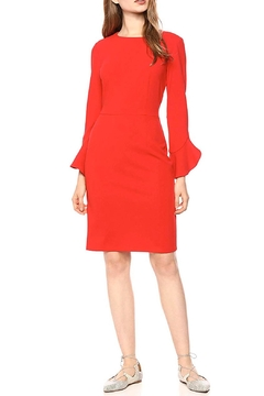 Donna Morgan Ruffle Sleeve Dress - Product List Image