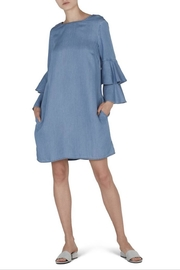 Beach Lunch Lounge Ruffle Sleeve Dress - Product Mini Image