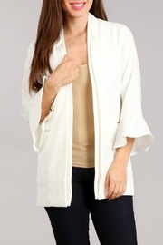 Blvd Ruffle Sleeve Jacket - Product Mini Image