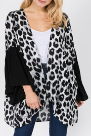 Patricia's Presents Ruffle Sleeve Kimono - Front cropped