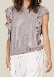 David Lerner Ruffle Sleeve Tank - Product Mini Image