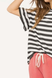 The Great Ruffle Sleeve Tee - Back cropped