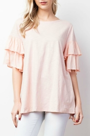 Mittoshop Ruffle Sleeve Top - Product Mini Image