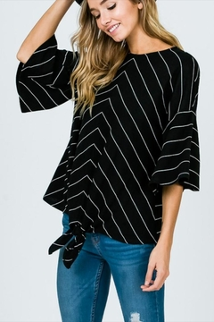 Ces Femme Ruffle Sleeve Top - Alternate List Image