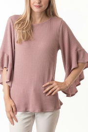 Apricot Lane Ruffle Sleeve Top - Product Mini Image
