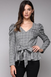 Do & Be Ruffle Sleeve Top - Product Mini Image