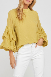 Wishlist Ruffle sleeve top - Product Mini Image