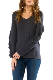 Anama Ruffle Sleeve Top - Product Mini Image