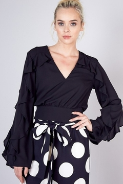Do & Be Ruffle Sleeve Top - Product List Image