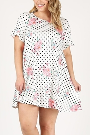 Lyn-Maree's  Ruffle Sleeve Tunic Dress - Front cropped
