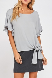 dress forum Ruffle Sleeves Blouse - Product Mini Image