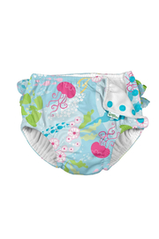 Green Sprouts Ruffle Snap Reusable Absorbent Swim Diaper - Product Mini Image
