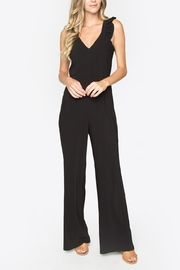Sugar Lips Ruffle Strap Jumpsuit - Front cropped