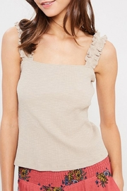 Wishlist Ruffle Strap Tank - Product Mini Image