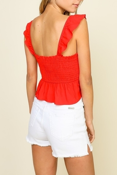 Timing Ruffle strap top - Alternate List Image