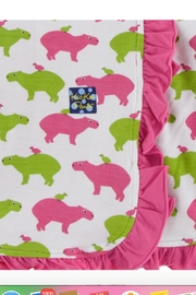Kickee Pants Ruffle Stroller Blanket - Front cropped