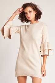 BB Dakota Ruffle Sweater Dress - Product Mini Image