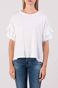 Margaret O'Leary Ruffle Tee - Product List Image