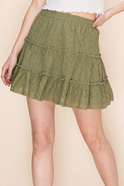 Lyn -Maree's Ruffle Tier Skirt - Product Mini Image