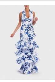 Forever Unique Ruffle Tiered Gown - Front cropped