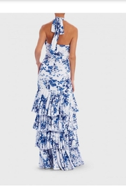 Forever Unique Ruffle Tiered Gown - Side cropped