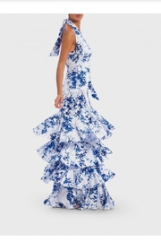 Forever Unique Ruffle Tiered Gown - Front full body