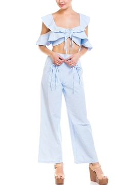 Shoptiques Product: Ruffle Top Pant-Set