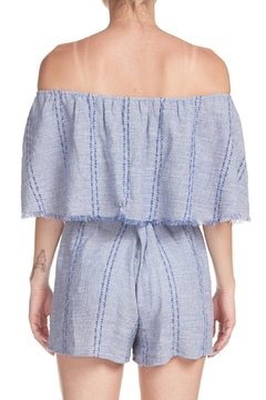 Elan Ruffle Top Romper - Alternate List Image