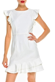 TCEC Ruffle Trim Dress - Product Mini Image