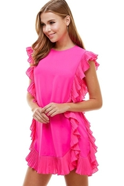TCEC Ruffle Trim Dress - Front cropped