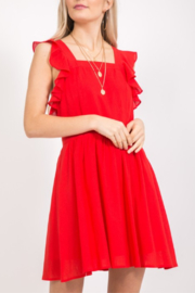 Very J  Ruffle Trim Dress - Product Mini Image