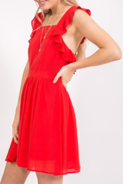 Very J  Ruffle Trim Dress - Alternate List Image