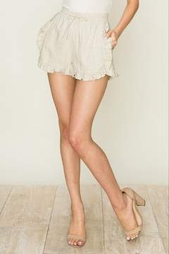 Shoptiques Product: Ruffle Trim Short