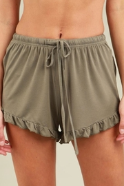 POL Ruffle Trim Shorts - Product Mini Image