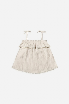 Rylee & Cru Ruffle Tube Top in Natural - Product List Image