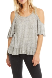 Chaser Ruffle Vent Back - Front cropped