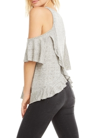 Chaser Ruffle Vent Back - Side cropped