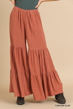 Shoptiques Product: Ruffle Wide Leg Pant