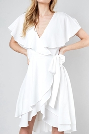 Do & Be Ruffle Wrap Dress - Product Mini Image
