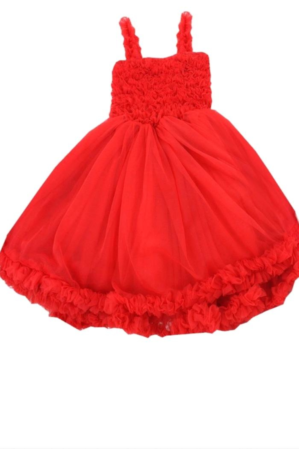 RuffleButts Princess Petti Dress - Front Cropped Image