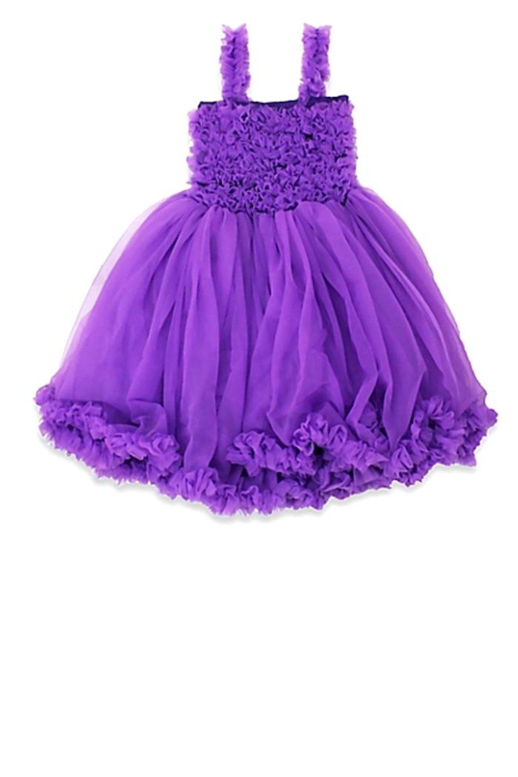 RuffleButts Princess Petti Dress - Main Image
