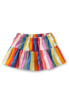 Shoptiques Product: Ruffled Baby Bloomers - Vibrant Stripe