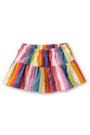 Tea Collection Ruffled Baby Bloomers - Vibrant Stripe - Product Mini Image