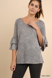 Umgee USA Ruffled Bell Sleeve - Product Mini Image